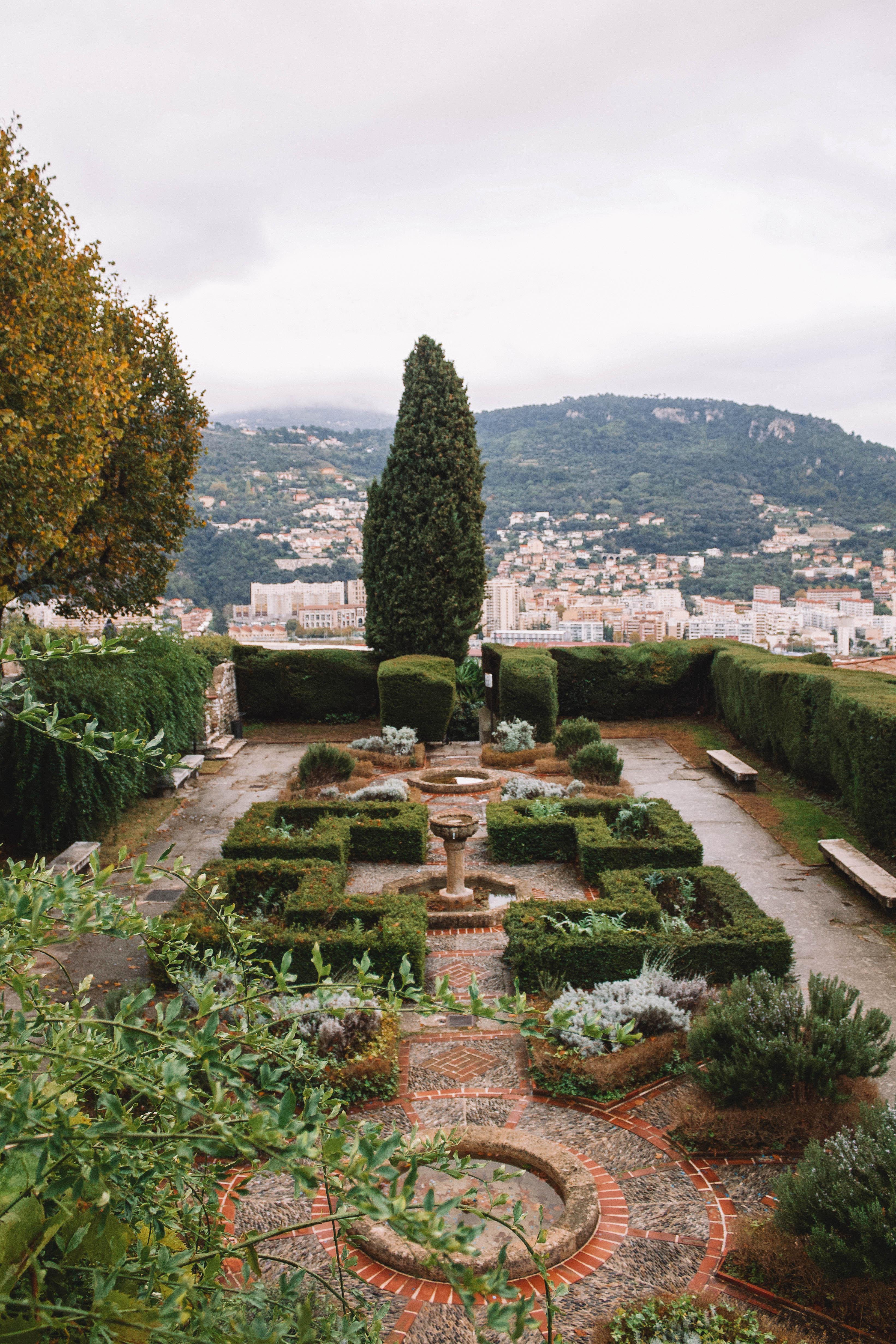 Jardins du Monastère de Cimiez