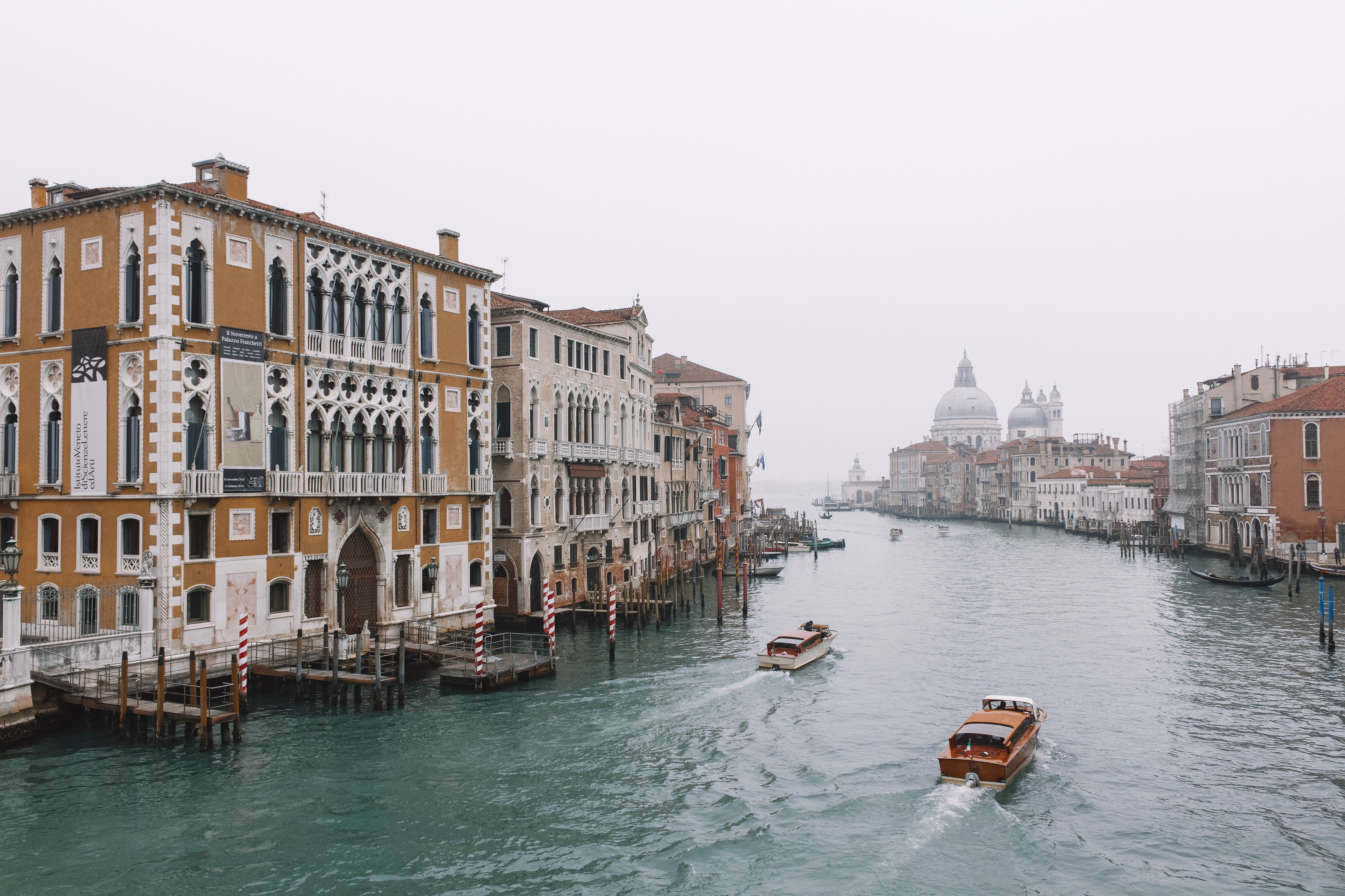 View from the Ponte dell'Accademia